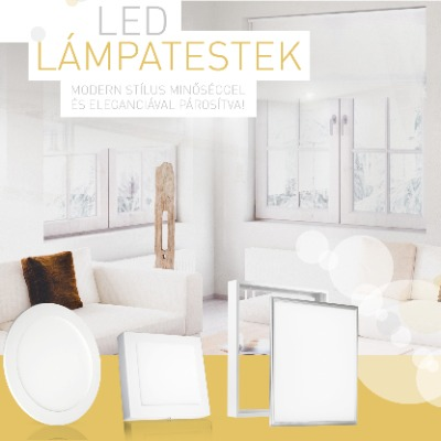 LED lámpatestek